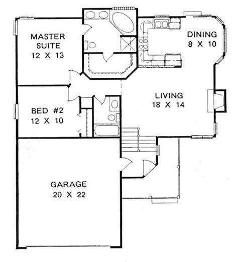 small split level house plans best 25 one level homes ideas on
