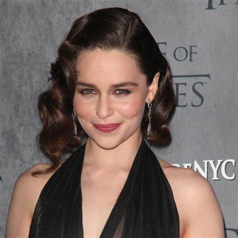 actress game of thrones dragon queen richard shepard fooled by emilia clarke s dark hair