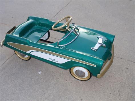 midwest industries 1957 jet hawk studebaker pedal car