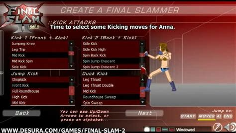 construct 2 tutorial fighting game create a fighter tutorial video final slam 2 indie db