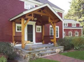 Saltbox House Pictures timber frame porch benches house plans pinterest