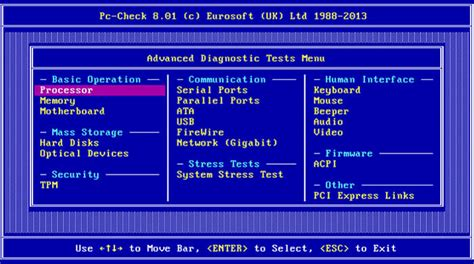 pc test pc check diagnostic software computer hardware