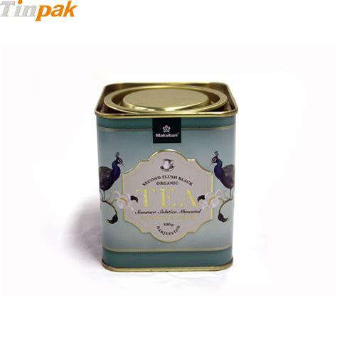 Tea Tin tea tin containers wholesaler chain tea tin can in bulk
