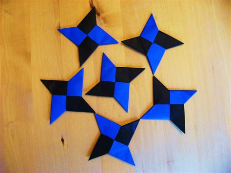 Origami Throwing - how to make a origami 6 pointed home design idea