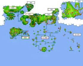 Map Of The Pokemon World by Pokemon World Map By Thomas999 On Deviantart