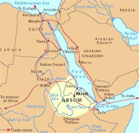 africa map kush maps