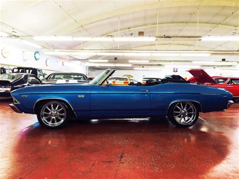 1969 Chevrolet Chevelle Pro Touring Numbers Matching