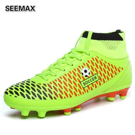top football shoes 2016 brand soccer shoes s high top soccer cleats boots