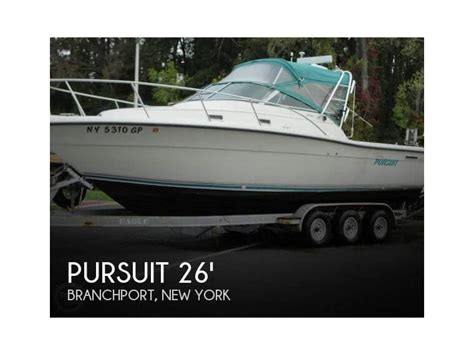 pursuit fishing boats used pursuit 2650 fisherman in florida day fishing boats used