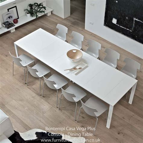 Modern Extendable Dining Table Bontempi Casa Vega Plus Extending Console Dining Table