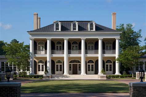 neoclassical houses neoclassical estate bluffton south carolina
