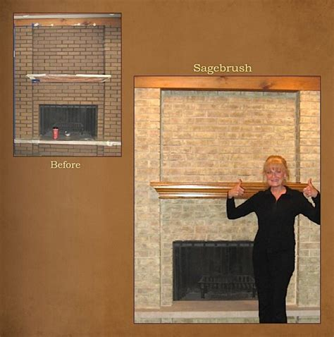 chicagoland northwest suburbs fireplace brick refinishing