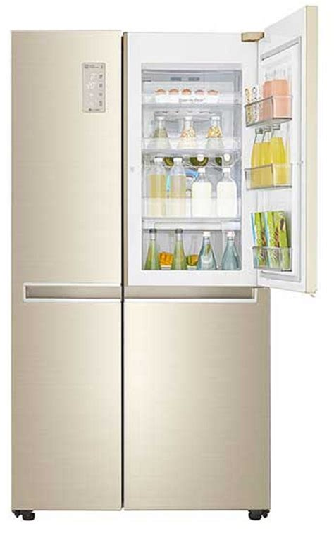 Kulkas Lg 500 Liter lg gc m247cvbv kulkas side by side door in door 626 l