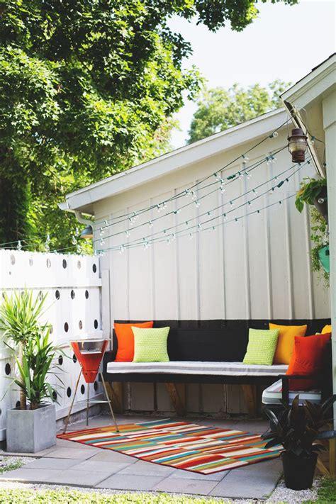 small backyard party diy small outdoor party ideas home design and interior