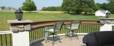Deck Railing Bar Top by Installing A Rail Bar Top An Easy And Inexpensive Way To