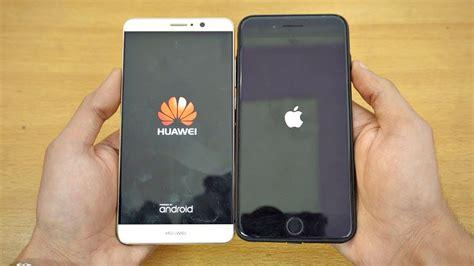 9 Iphone Plus Huawei Mate 9 Vs Iphone 7 Plus Speed Test 4k