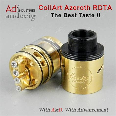 Gta Not Rta Rda Coilart Mage Gold Edition Authentic original authentic gold coilart azeroth rdta tank coil