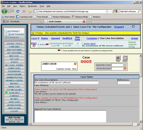 open source help desk tech center open source web based help desk software