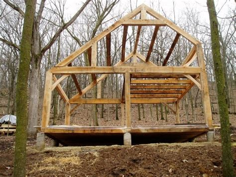 dead trees  construct  timber frame