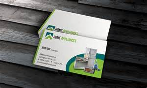 appliance repair business cards home appliances business card template 187 free