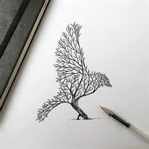 pen amp ink animal illustrations by italian artist alfred