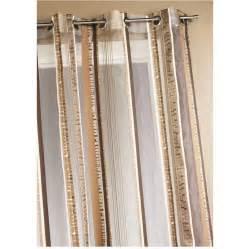 voilage marron rideaux large choix de produits 224 d 233 couvrir