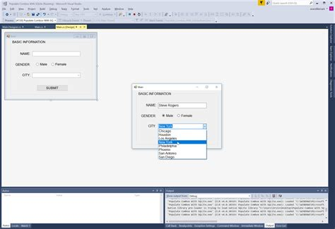 tutorial c sqlite c populate combobox with sqlite free source code