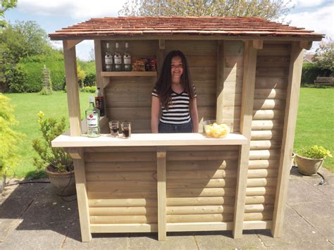 Garden Of Bars Log Stores Garden Bars Oak Surrounds