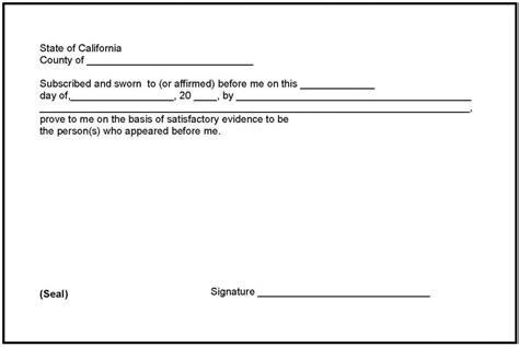 Notary Signature Template Beneficialholdings Info Notary Block Template