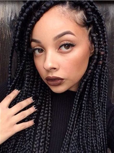 box braids hairstyles for black women box braids from naturalista and instagrammer hairstyle