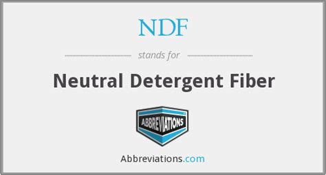 Detox Meaning In Tamil by Ndf Neutral Detergent Fiber