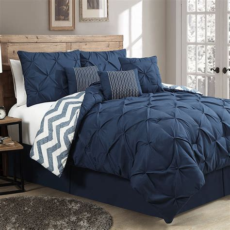 navy blue bed sets navy bedding and comforter sets