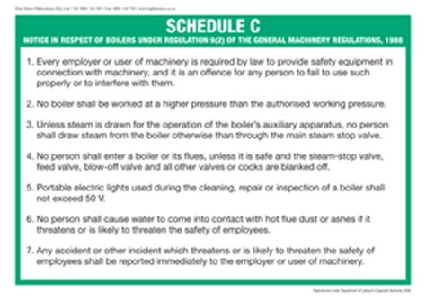 When Do They Schedule C Sections by Compensation For Occupational Injuries And Diseases Act