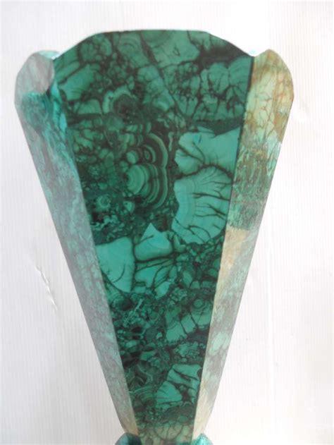 Malachite Vase by Set 6 Of Malachite Vases For Sale At 1stdibs