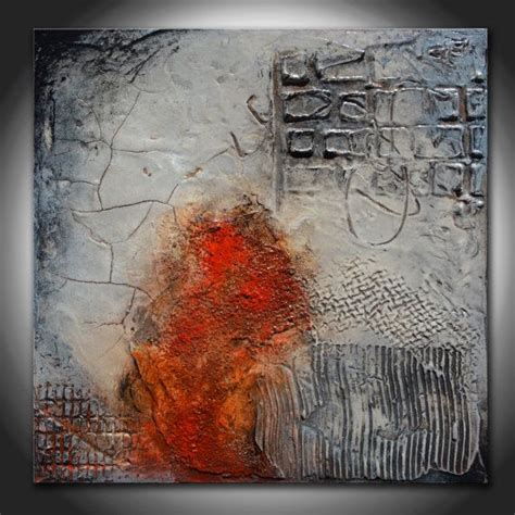 abstract textured paintings small abstract textured sculpted original painting by