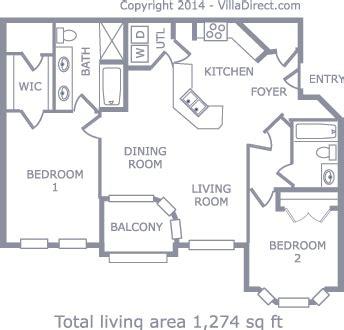 disneys den spacious  bedroom condo   gated