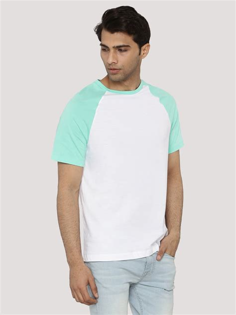 Contrast Raglan Sleeve T Shirt buy koovs contrast raglan sleeve t shirt for s