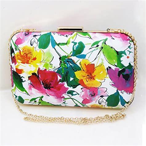 Floral Clutch floral print designer clutch bag evening bag