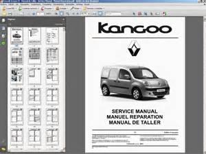 Renault Kangoo Workshop Manual Renault Kangoo Ii Manual De Taller Workshop Manual