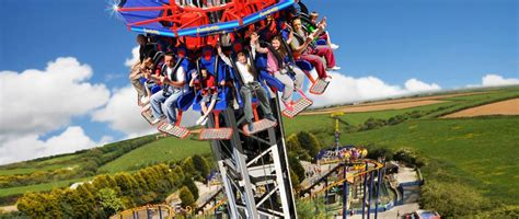 the thunderbolt ride at flambards theme park helston flambards experience attractions best days out