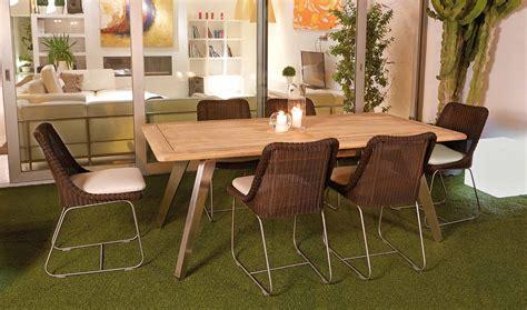 mesa de comedor extensible jardin fleur de lujo en