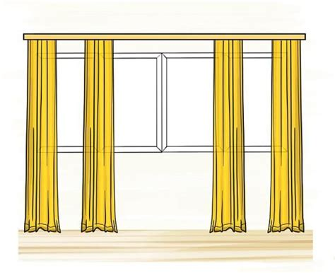 curtains for large picture window 25 best ideas about large window treatments on