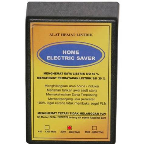 Ac Yg Murah Dan Hemat Listrik jual home electric saver alat hemat listrik daya 2200
