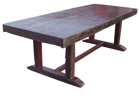 rustic and antique wood dining tables in san diego