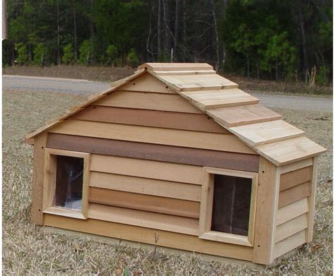 little dog house small duplex dog house