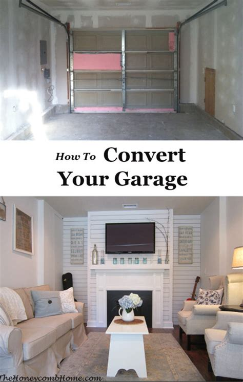 How To Convert A Garage Into A Bedroom by Garage Makeover