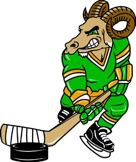 rams hockey signspecialist mascots decals ram hockey player