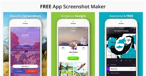 app layout maker app screenshot maker screenshot builder screenshot
