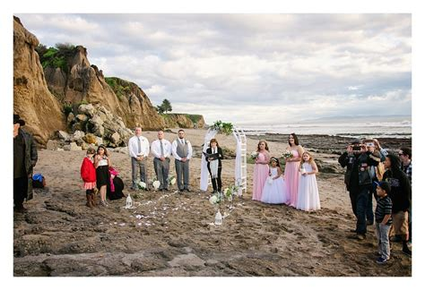 weddings in pismo california tide pool wedding chantell ramon elopements and