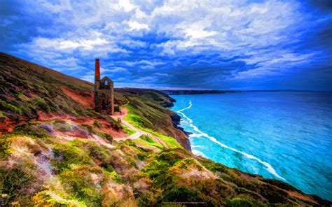 cornwall landscape desktop wallpapers top  cornwall